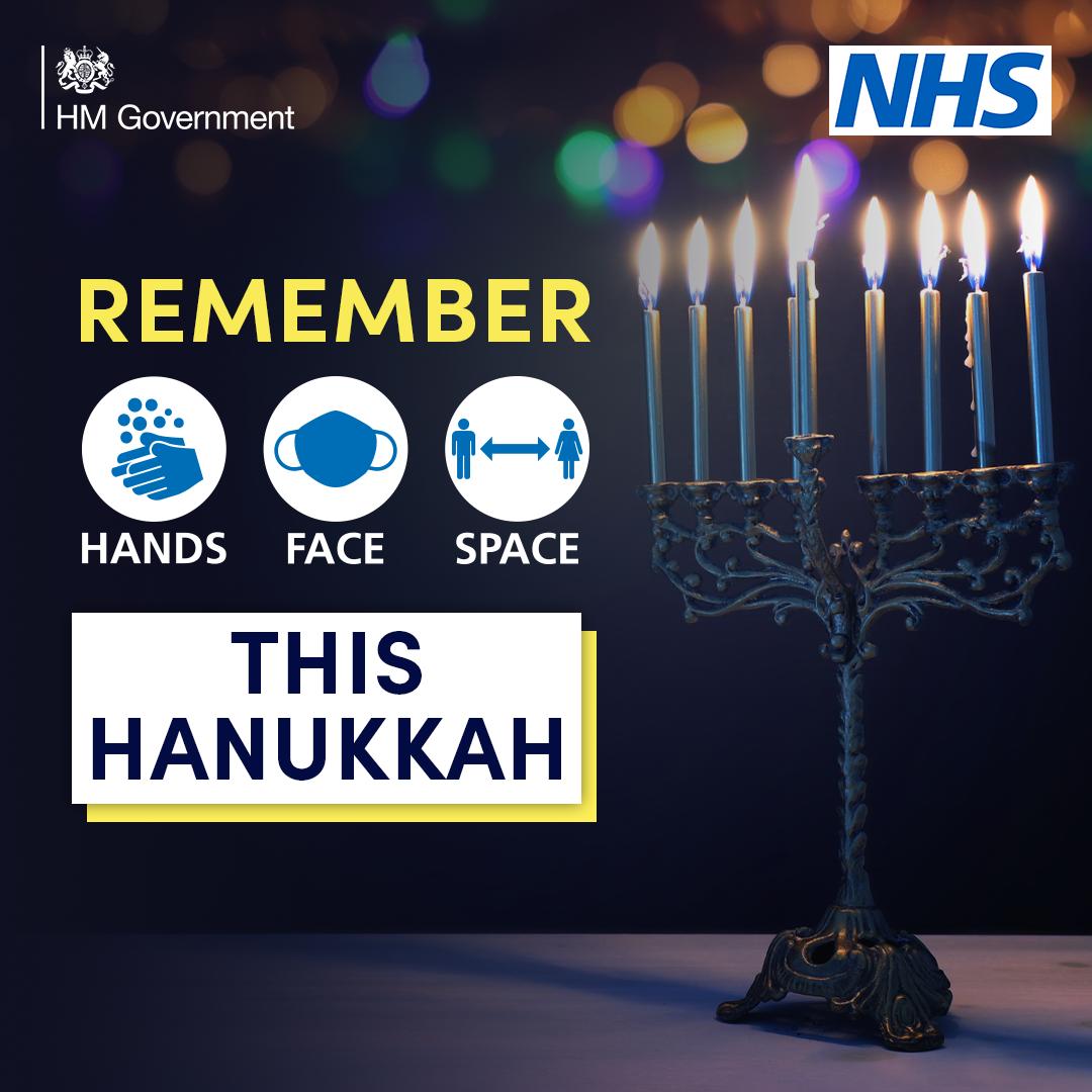Remember hands face space this Hanukkah
