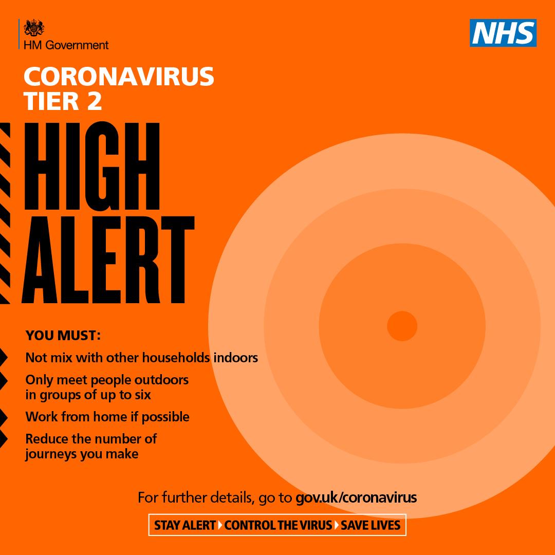 COVID Tier 2 High Alert
