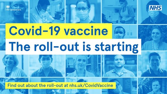 COVID-19 vaccine - the roll out is starting. nhs.uk/covidvaccine