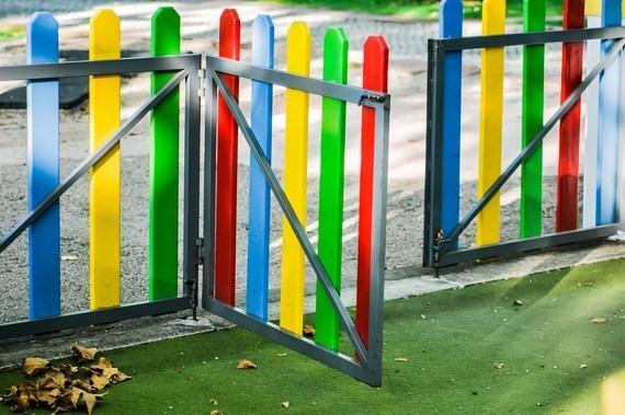 A school gate