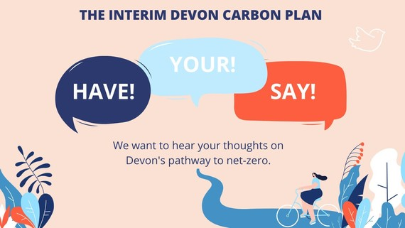 Have your say on the Interim Devon Carbon Plan