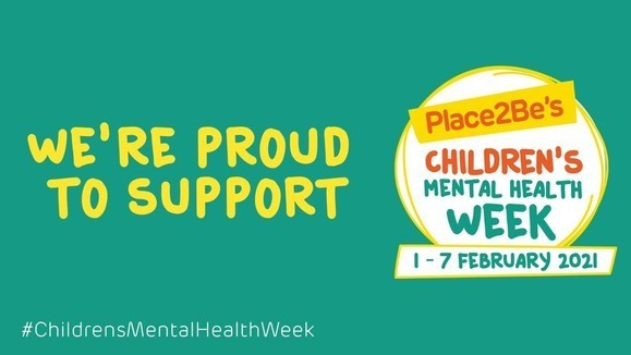 We're proud to support Children's Mental Health Week