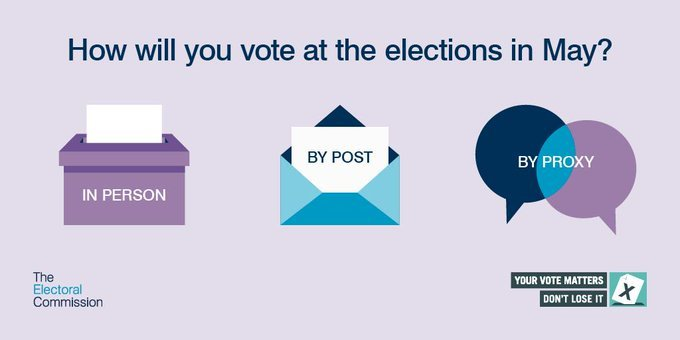 how will you vote at the elections in May?