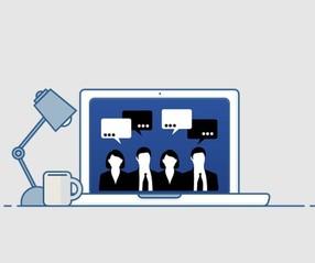 Online working image