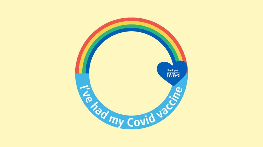 I've had my COVID-19 vaccine Facebook profile frame
