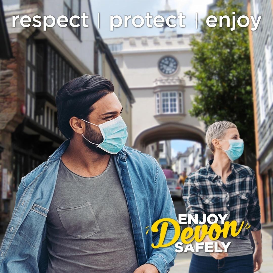 Respect, protect, enjoy.