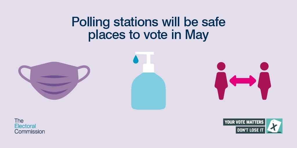 Polling stations will be safe places to vote