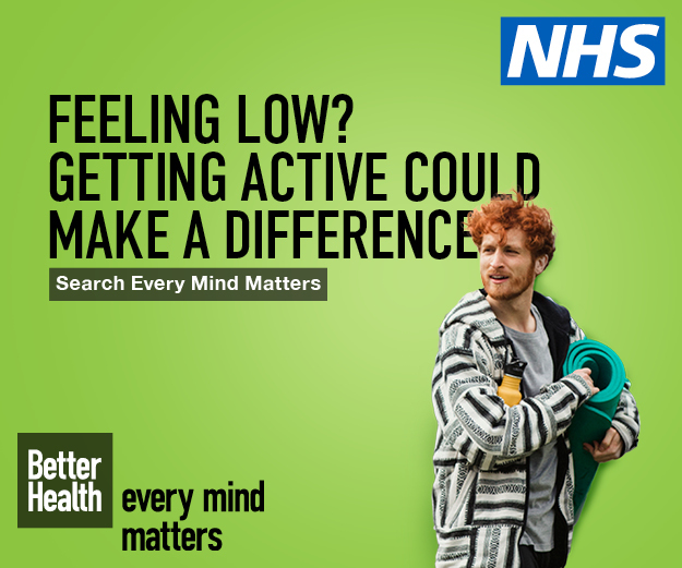 Feeling low? Getting active could make a difference