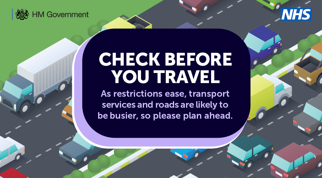 Check before you travel