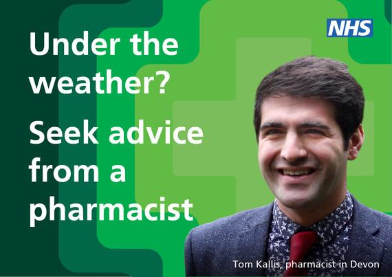 seek advice from a pharmacist
