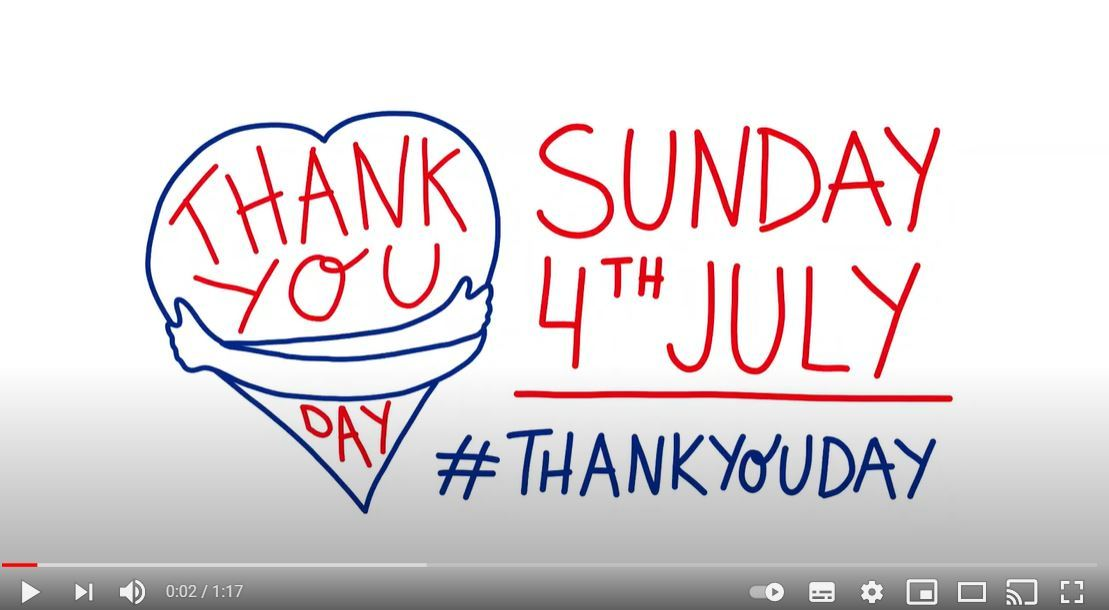 Thank you day video