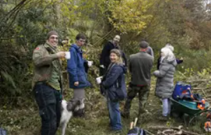 An image of people at a Wild About Devon event
