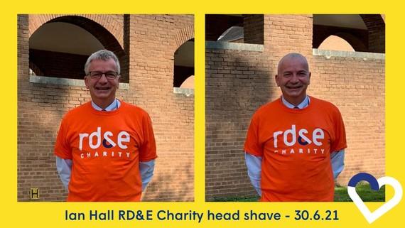 Ian Hall head shave