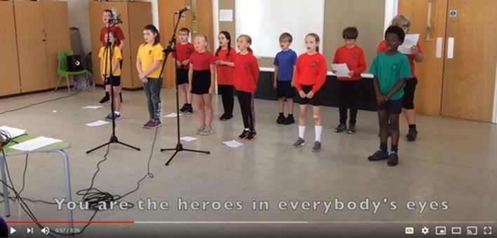 Year 4 singing - click to watch