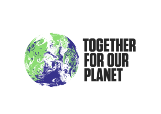 Together for our planet logo