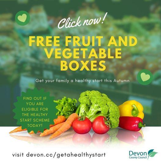 Free fruit and veg boxes