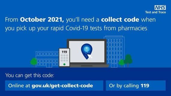 NHS collect code