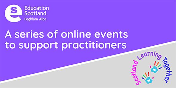 education Scotland - online conversation graphic