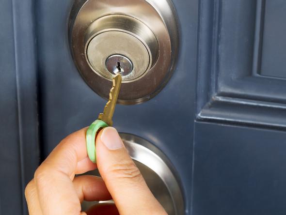 key in lock image