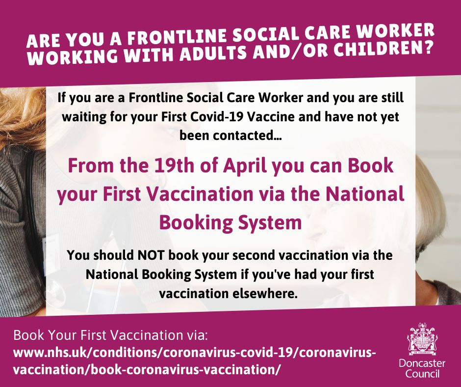 Frontline Social Care Vaccination