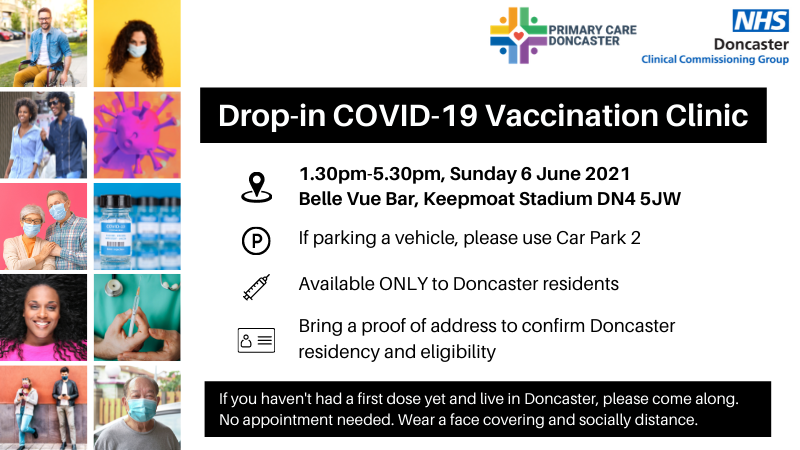 drop in vaccination clinic