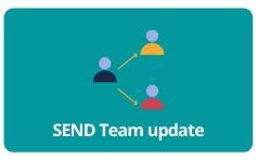 SEND team update