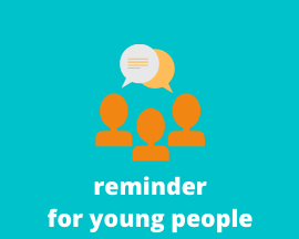 reminder for young people