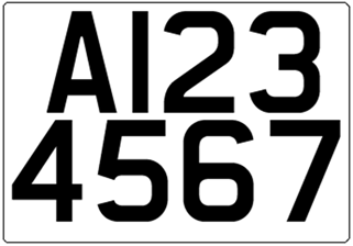 Important information on trailer registration plates