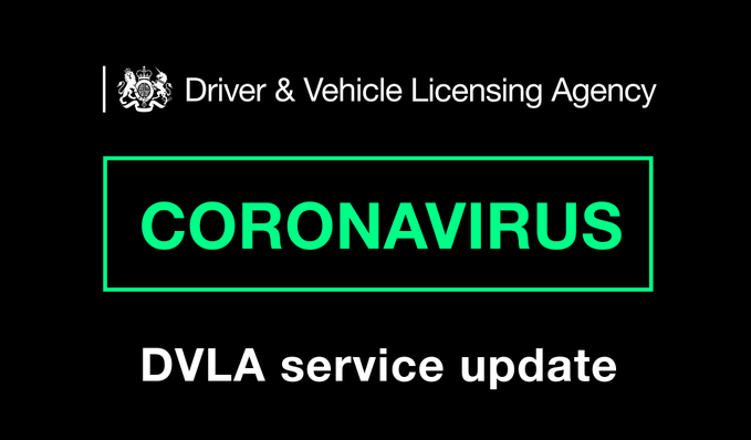 DVLA coronavirus service update
