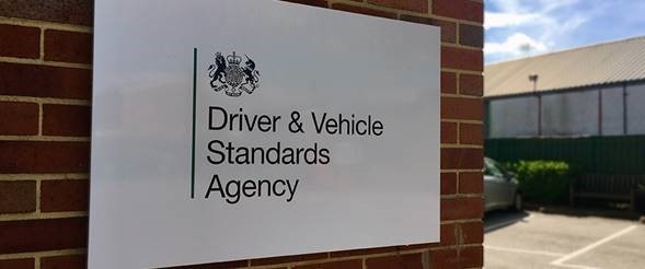 An image of a driving test centre