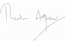 Lord Agnew signature