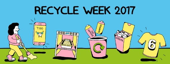 Recycle week 2017 banner