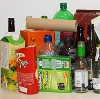 Mixed recycling items
