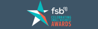 FSB celebrating small business awards logo
