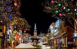 shops at Christmas