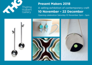 Thelma Hulbert Gallery present makers exhibition