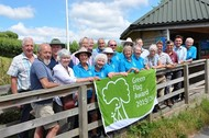 Seaton Wetlands celebrates Green Flag status