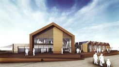 Sideshore watersport centre in Exmouth