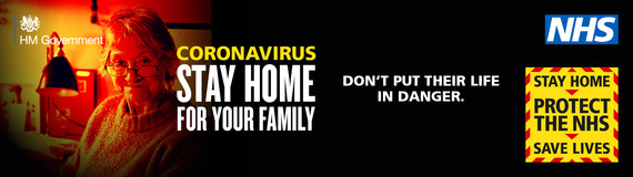 Stay at Home, Save your Family