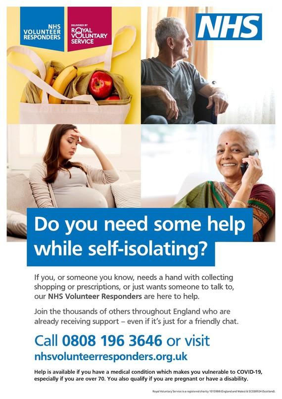NHS Volunteer Scheme