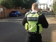 On street parking enforcement resumes