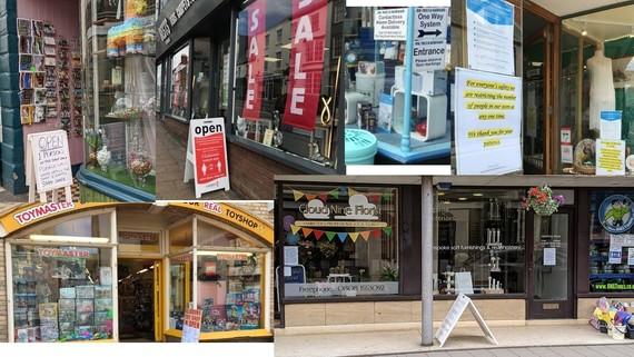 East Devon shops open