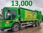 13000 Green Bins
