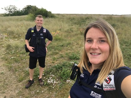 South East Devon wildlife team