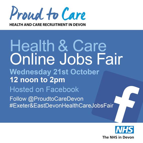 Exeter and East Devon Health and Care Jobs Fair