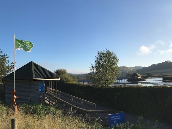 Seaton Wetlands green flag award