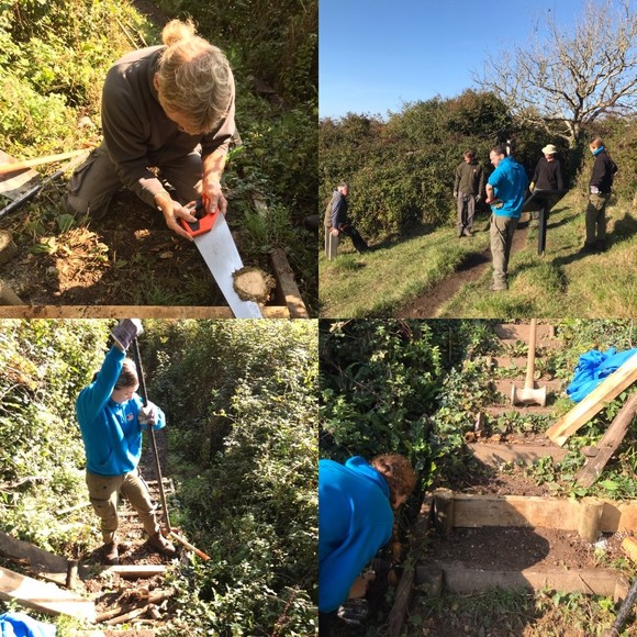 repairing the South West Coast Path