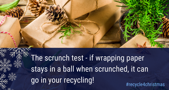 Christmas recycling tips