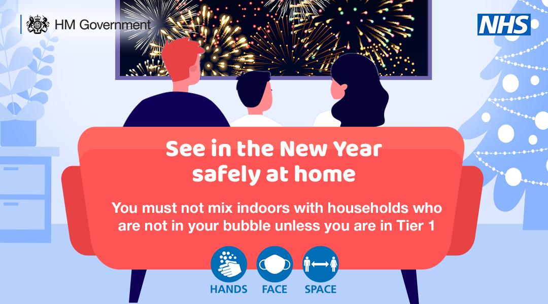 New Year at home 2020