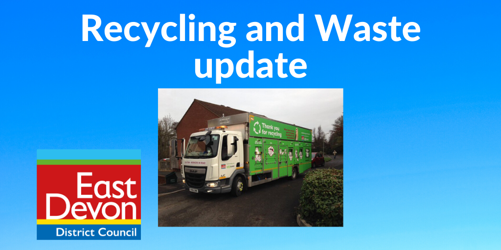 Recycling and Waste update